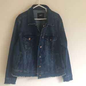 NWT Nine West Blue Jean Jacket